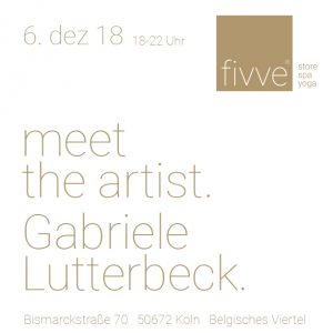 Meet the Artist - Gabriele Lutterbeck
